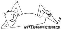 Website Art and Link for Laughing Frog Studio